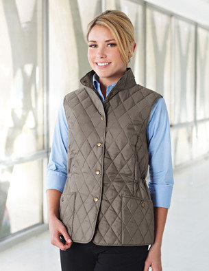 LB8221  Ladies Quilted Vest