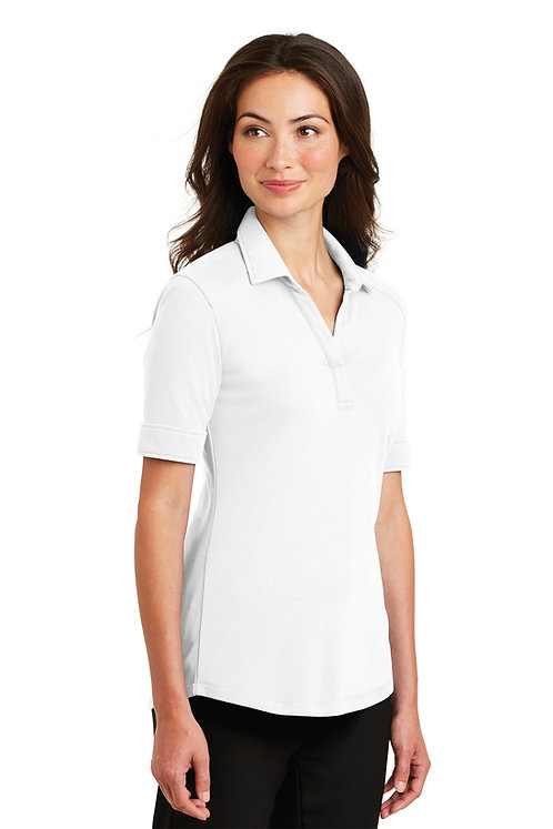 L5200  Ladies Silk Touch Interlock Performance Polo