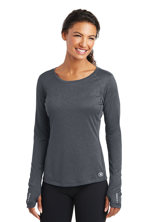 LOE321 Ladies Long Sleeve Pulse Tee