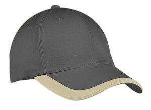 C867  Contrast Stripe Bill Hat