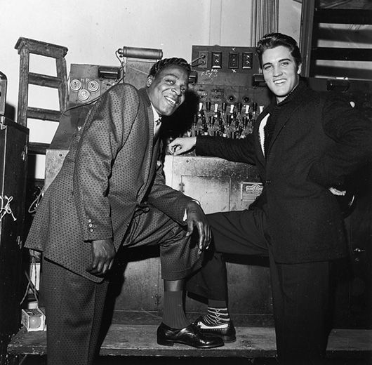 Brook Benton and Elvis Presley