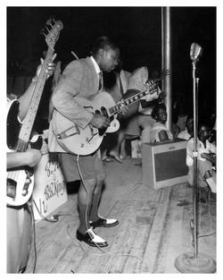 B.B. King performing