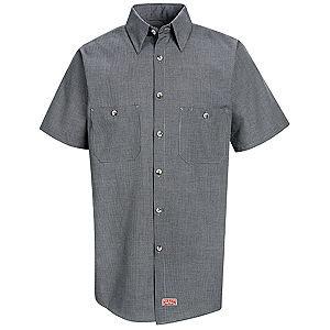 SP20  Short Sleeve Microcheck Shirt