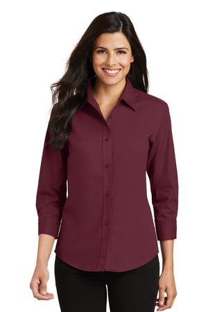 L612  Ladies 3/4-Sleeve Easy Care Shirt