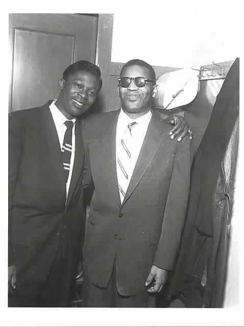 B.B. King and Ray Charles.