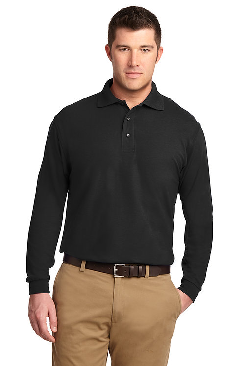 TLK500LS Tall Long Sleeve Silk Touch Polo