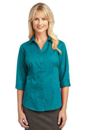 L6290  Ladies 3/4 Sleeve Blouse