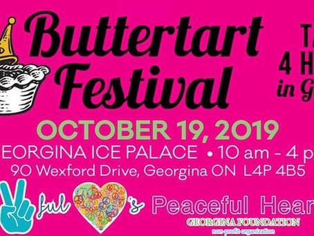 Tarts 4 Hearts:  Buttertart Festival!
