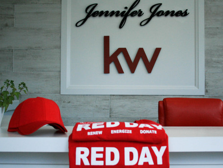 KW RED DAY WITH THE TEAM!
