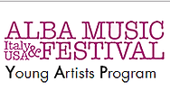 The Ala Musi Festival Young Artists Program summer music festival logo