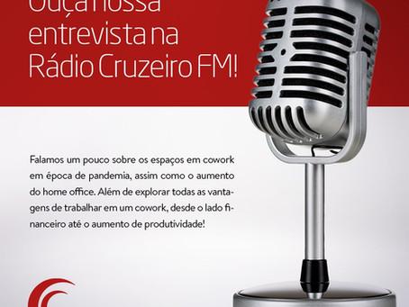 Entrevista a rádio Cruzeiro FM de Sorocaba