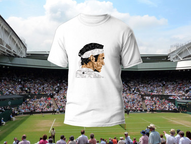 T-shirt Federer