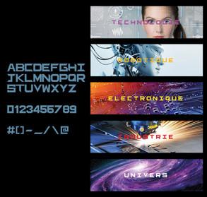 Typographie Tech