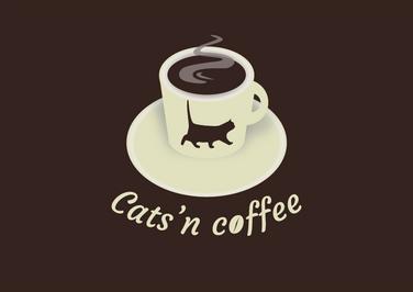 Logo Cats'n Coffee