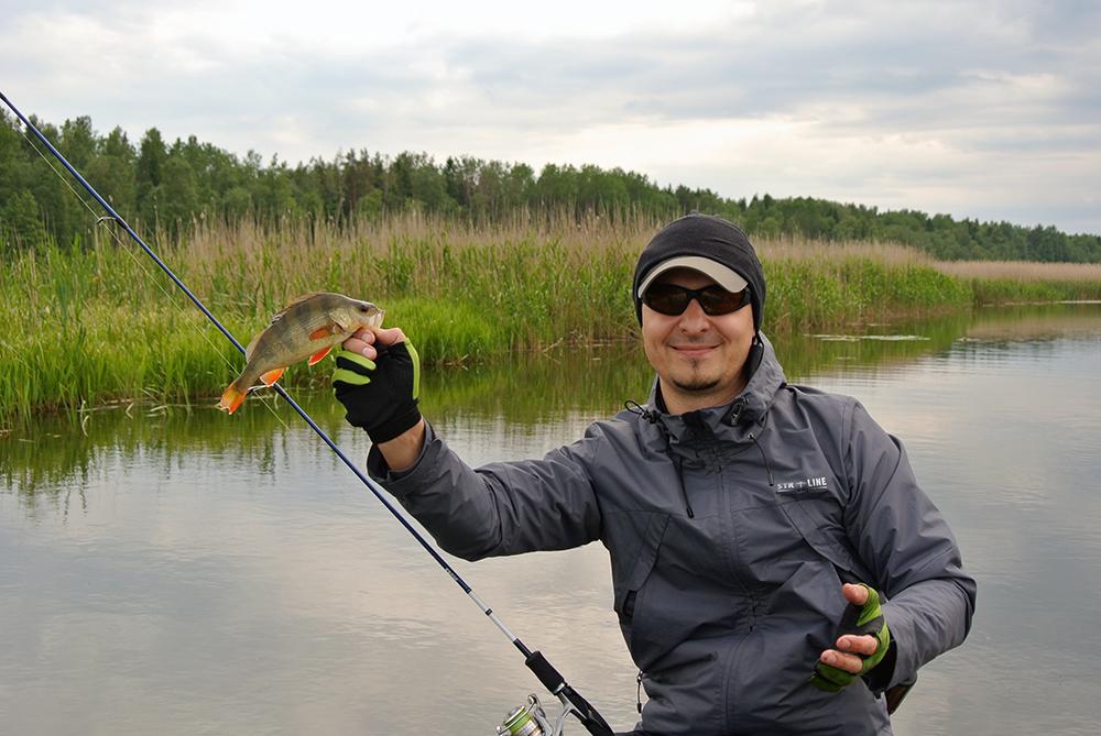 Место для рыбалки в ленинградской области