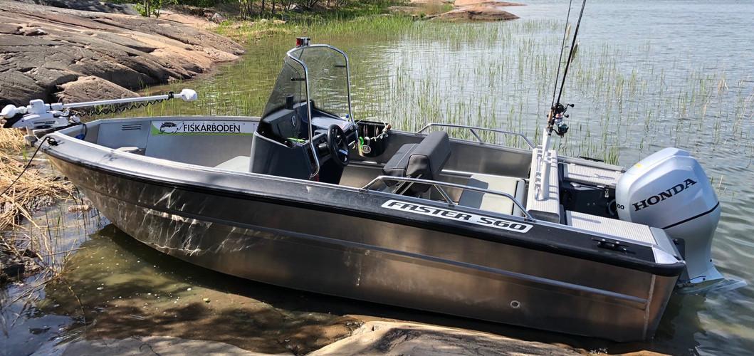 Guiding boat