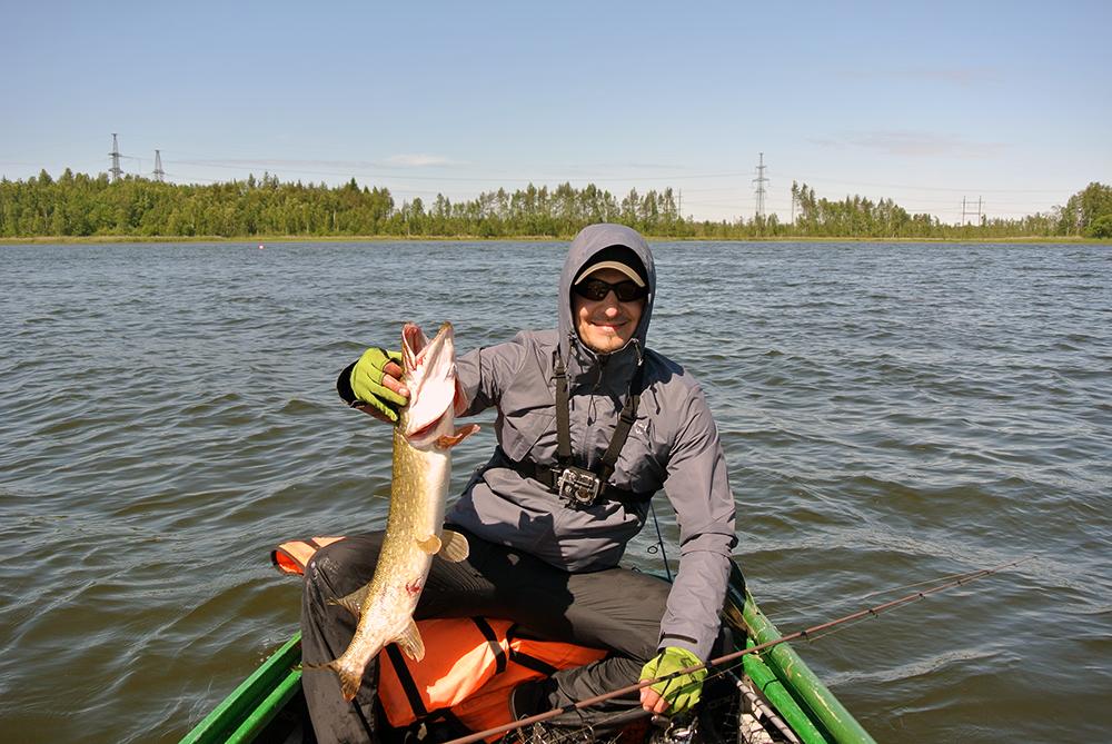 Места рыбалки ленинградской области