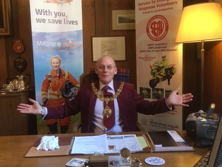 MAYOR LAUNCHES VOLUNTEER FOR CAMBRIDGE AWARDS TO RECOGNISE COMMUNITY HEROES