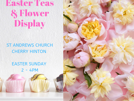 Easter Teas and Flower Display