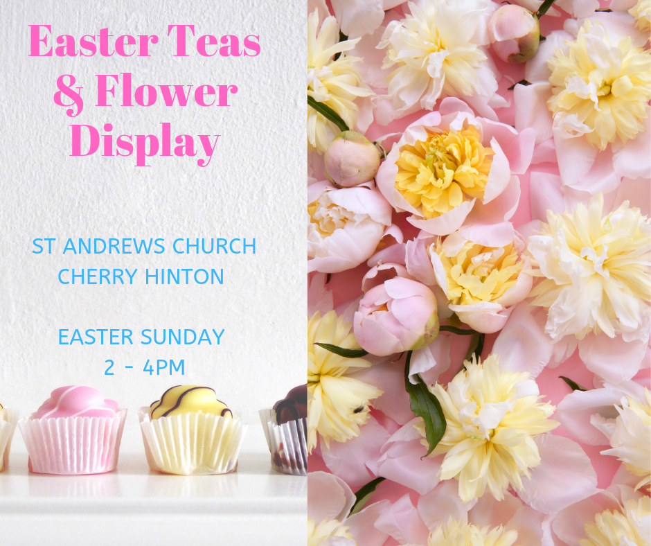 St Andrews Church, Easter Sunday 2-4pm