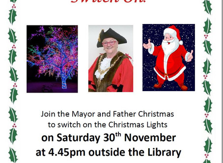Christmas Lights in Cherry Hinton