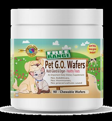 Pet G.O. 90 Wafers