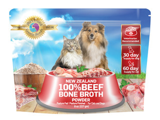 Bone Broth: High-Quality Ingredients For Your Dog's & Cat's Health