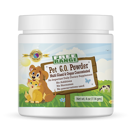 Pet G.O. Powder 4oz (114 gm)