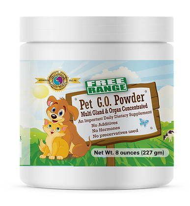 Pet G.O. Powder 8oz (277 gm)