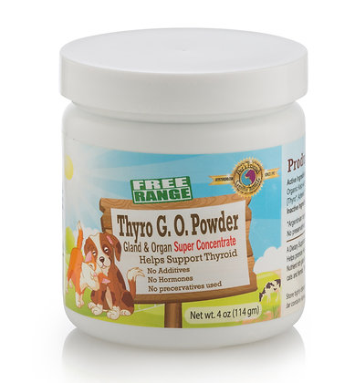 Thyro G.O. Powder 4 oz