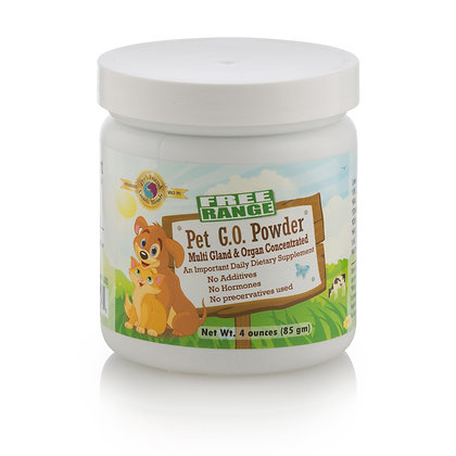 Pet G.O. Powder 4oz (114 gm)