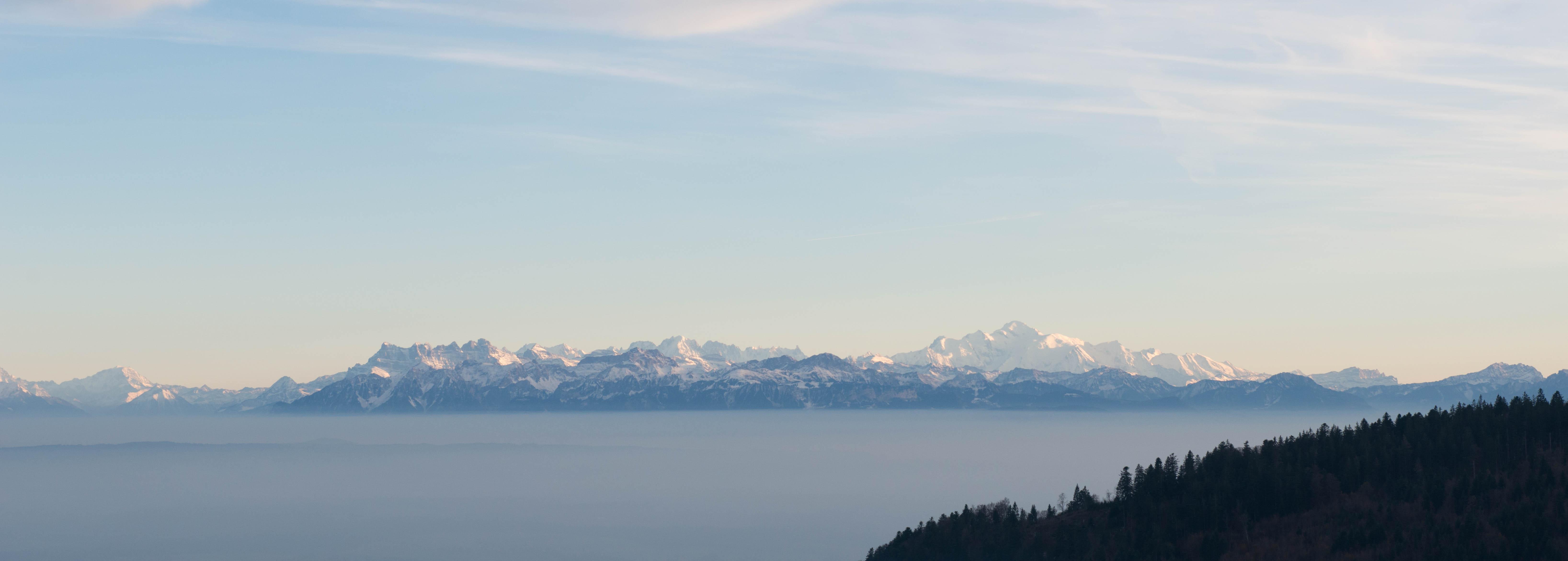 Unique panoramic view