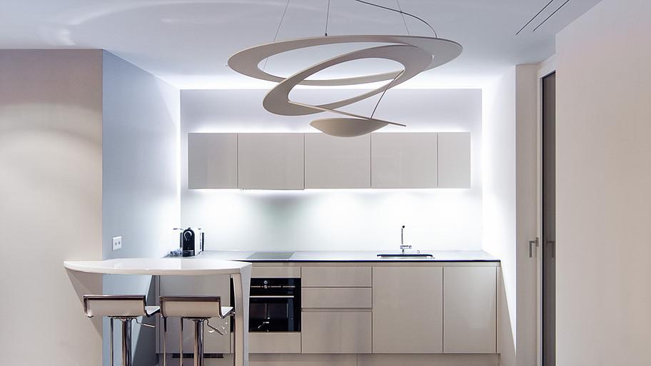 moderne Küchenkonzepte