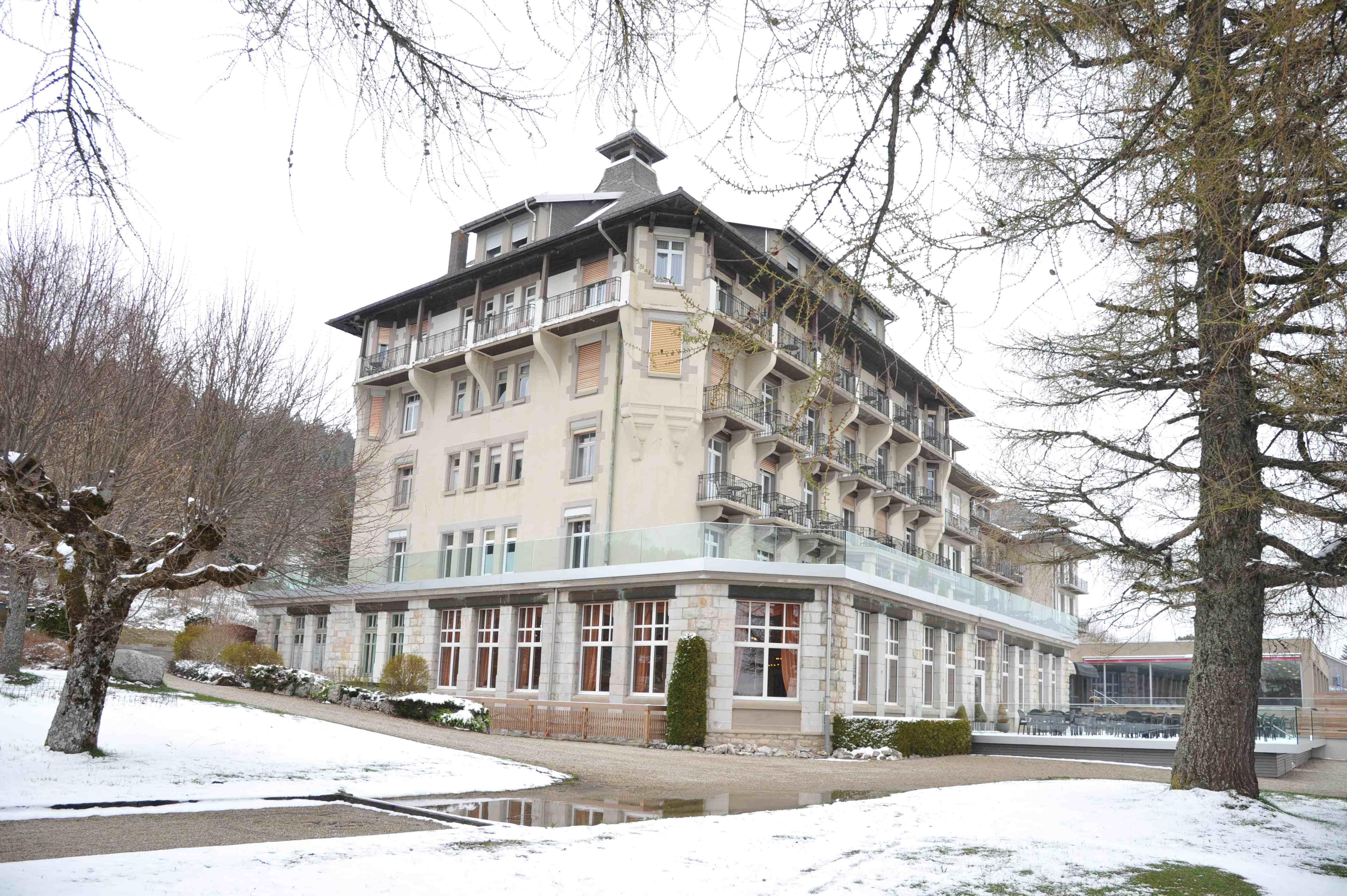 das GrandHotel in Les Rasses
