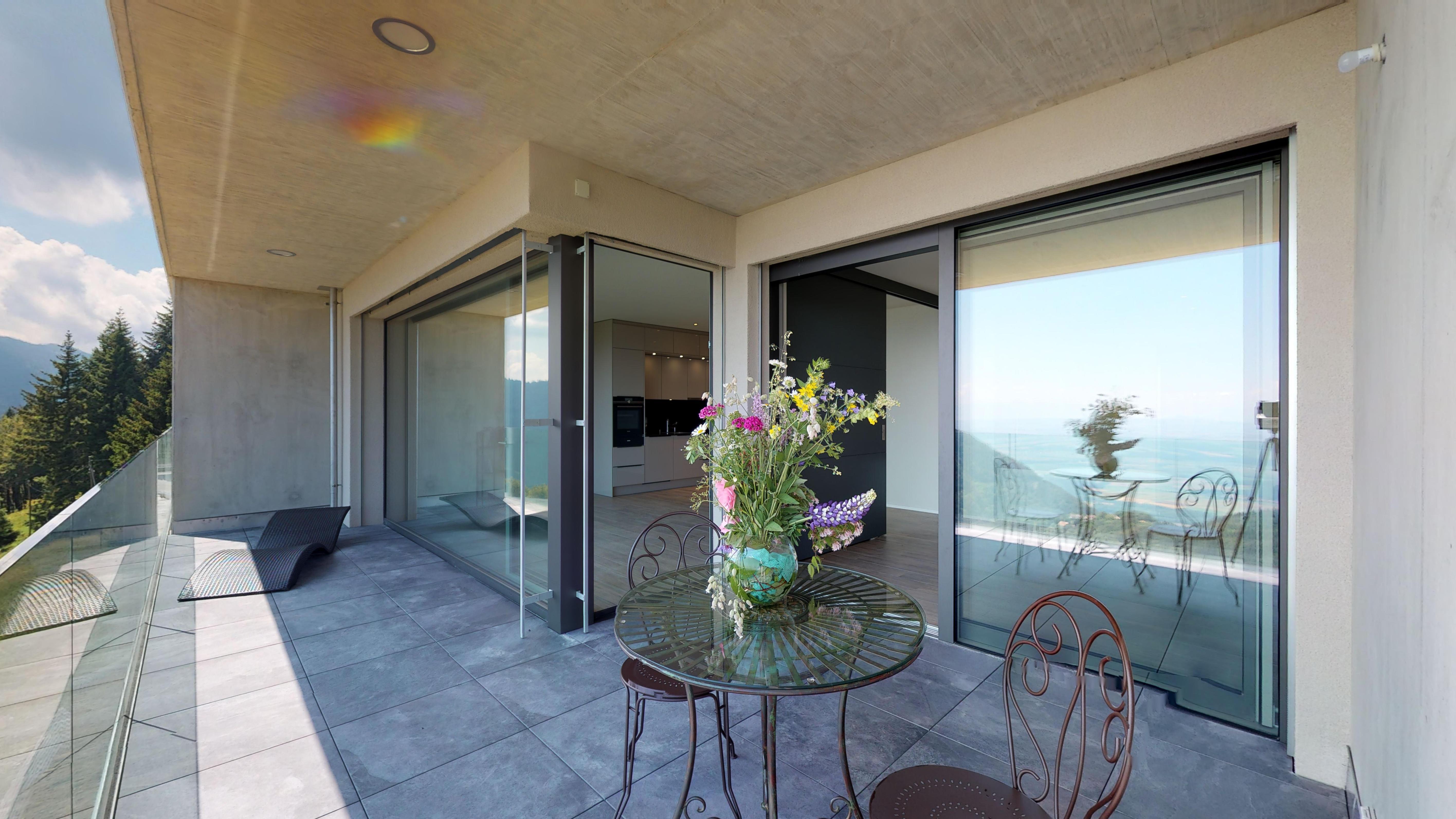 Terrasse 2.5 Zi Wohnung