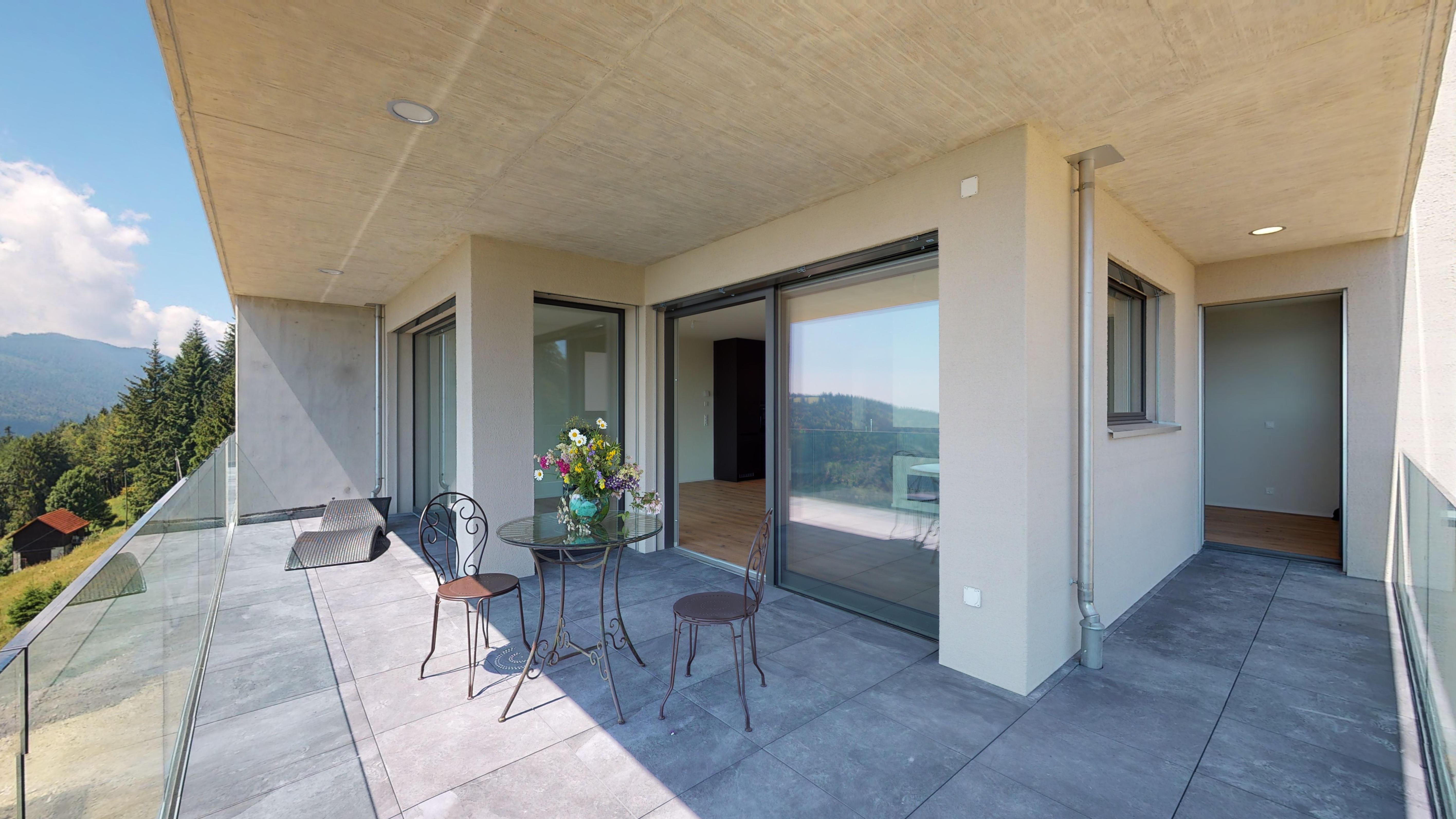 Terrasse 3.5 Zi Wohnung