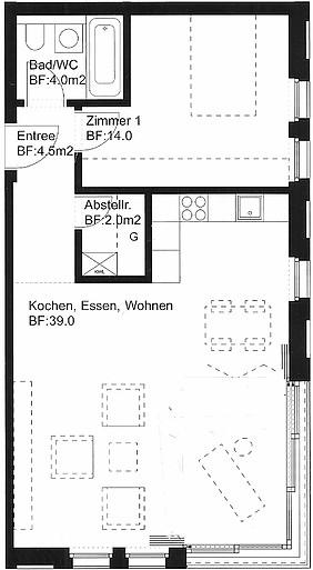 Business Apartment Oerlikon
