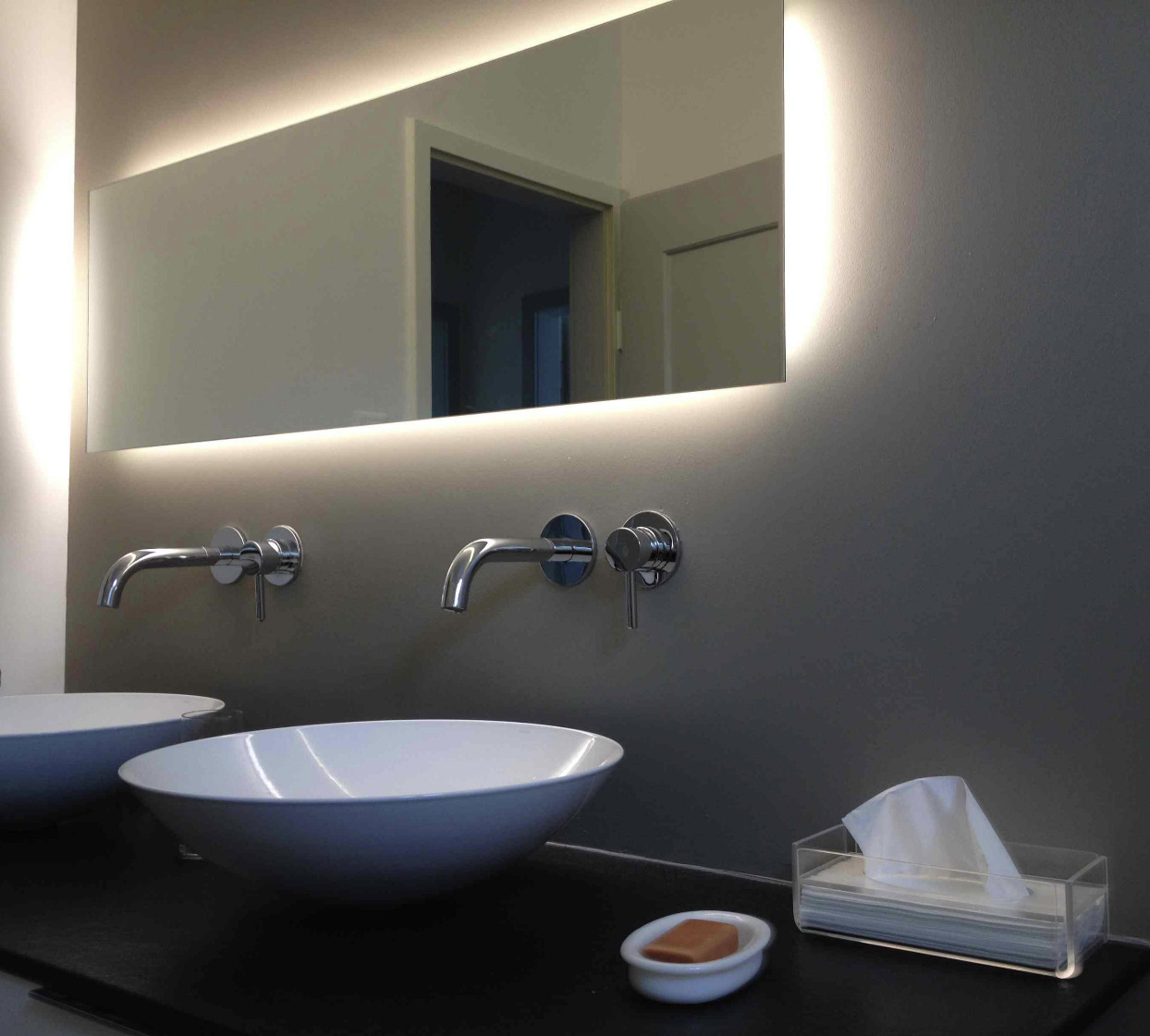 salles d'eau modernes