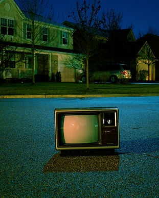 Oude TV on the Street