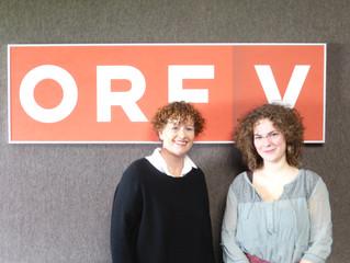 Interview im ORF Landesstudio Vorarlberg mit Bettina Barnay