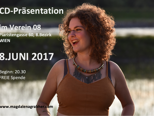 CD-Präsentation am 8.JUNI in WIEN