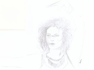 Zeichnung über mich - Danke liebe Deefa!