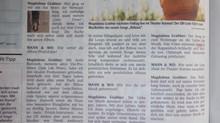 Interview mit Joachim Mangard und der Wann&Wo Zeitung