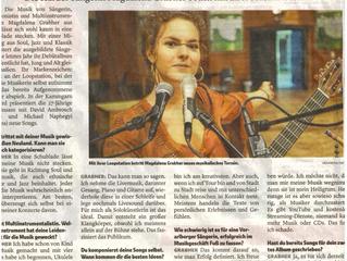 Vielen Dank an die Vorarlberger Nachrichten für das tolle Interview mit euch!