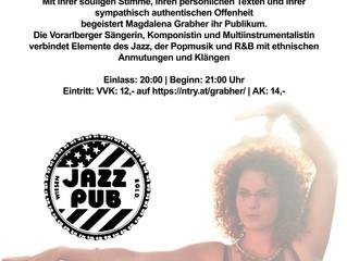 HEUTE im Jazz Pub Wiesen