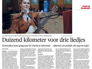Interview in Hilversum (NLD)