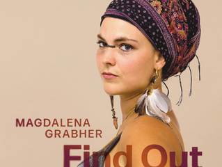 I'm very happy to announce the launch of my new album 'Find Out' on the 28th of March 20