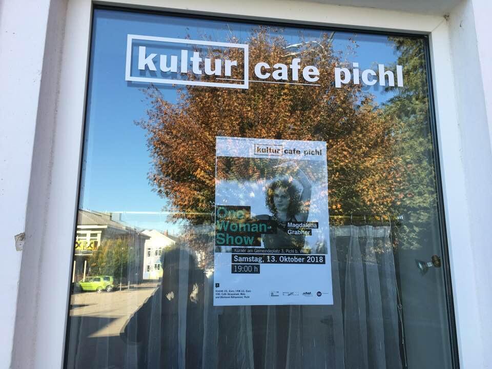 Heute in Pichl bei Wels, ab 19.00 spiel ich - Mai is's hier schön.