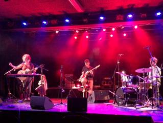 Pandorasdiary + Magdalena Grabher Trio in der Kammgarn Hard, 12th January 2018