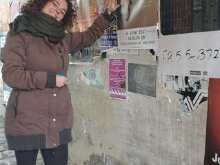 Plakate in Wien hängen nun auch schon!